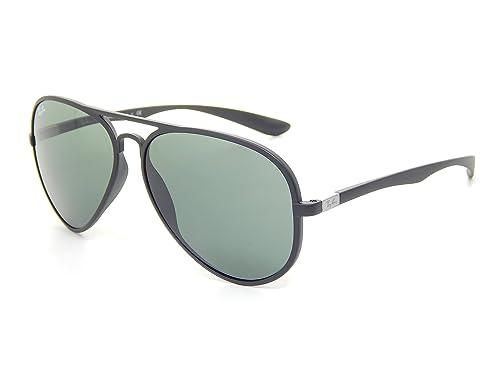 3cd4926c135 New Ray Ban RB4180 601S71 Liteforce Aviator Tech Matte Black Green 58mm  Sunglasses  Amazon.ca  Shoes   Handbags