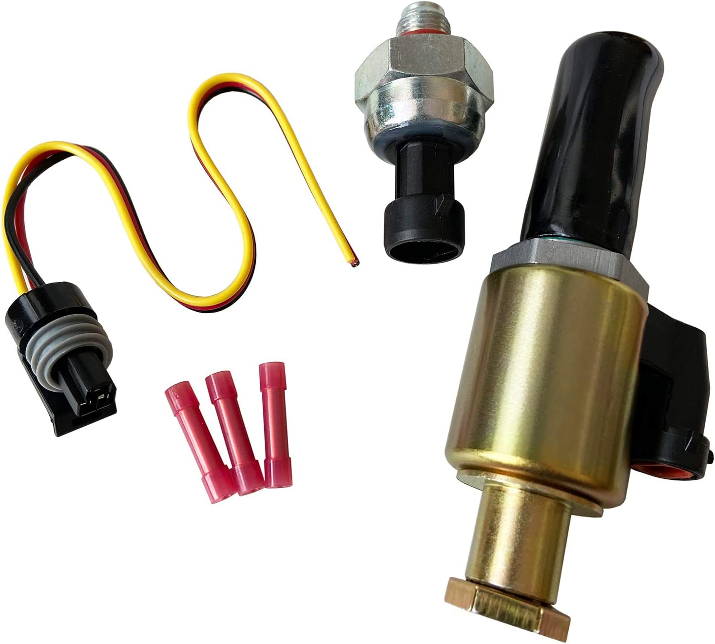 F250 Super Duty CM5013 NEW Replacement Injector Pressure Regulator Valve For Ford Powerstroke 7.3L Diesel Engines F81Z9C968AA Excursion E350 Club Wagon F5TZ9C968A 1829856C91 F350