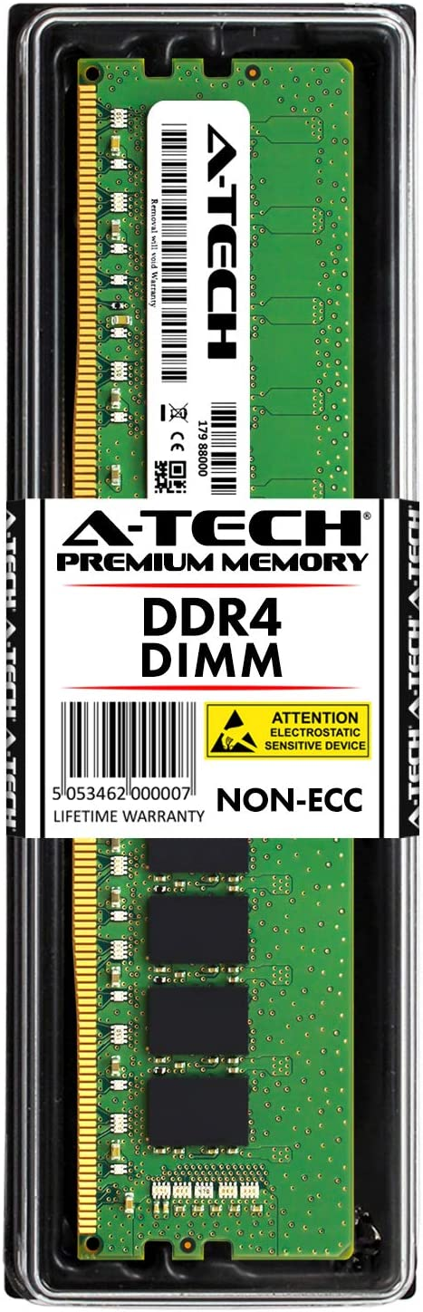 A-Tech 16GB RAM for DELL XPS 8930 (T8930) 8920 (T8920) 8910 (T8910) 8900 (T8900) DDR4-2666 Desktop Tower Computer Memory Upgrade Stick