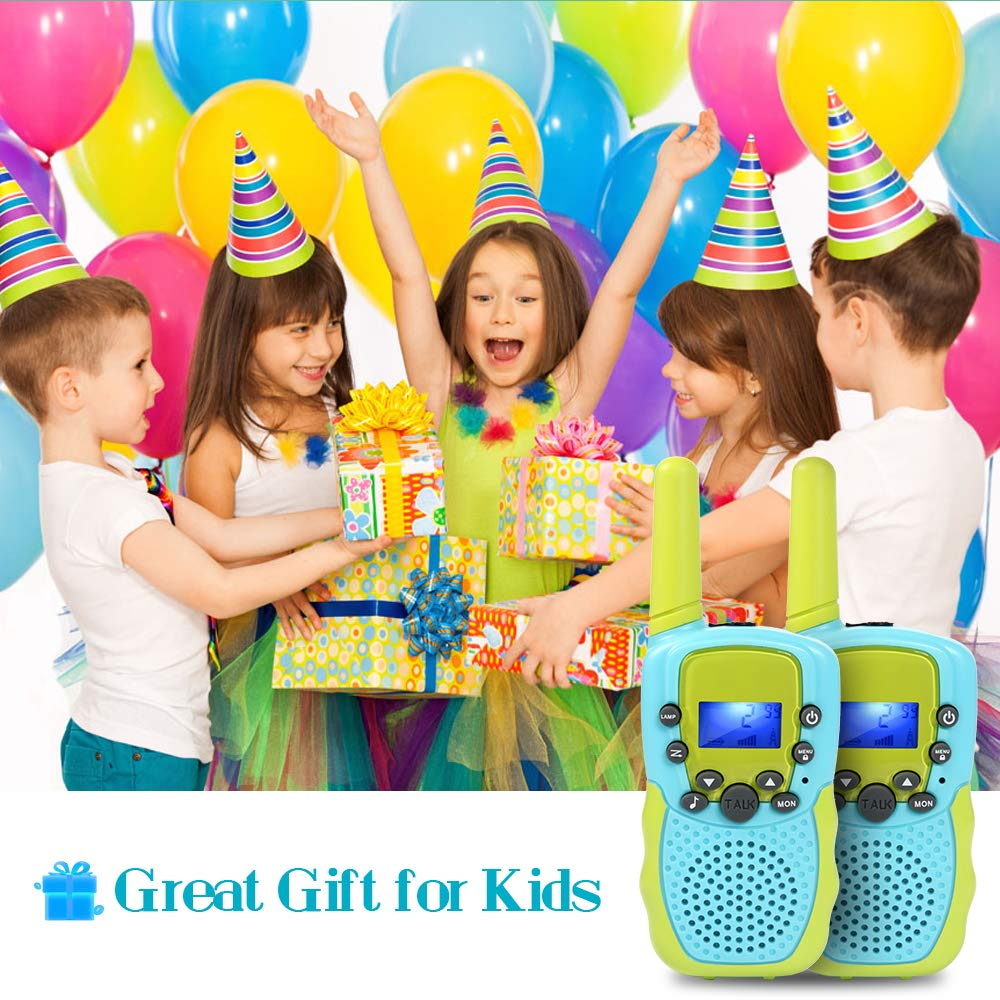 OMWay Toys for 4-5 Year Old Boys, Walkie Talkies for Boys Age 5-10,Outdoor Toys for Kids Toddlers,Kids Camping Gear,3-12 Year Old Boy Gifts,2 Way Radio,2 Miles,Birthday Gifts Ideas. by OMWay (Image #4)