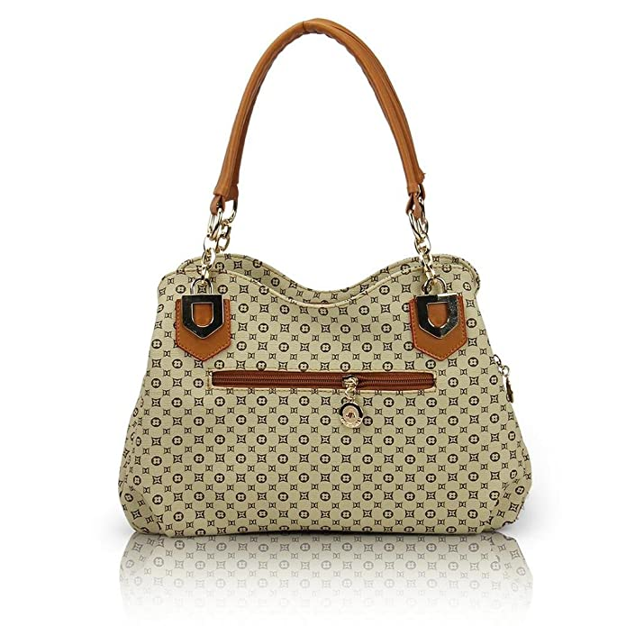 Amazon.com: Fashion BK PU bolso, Marrón, M: Shoes