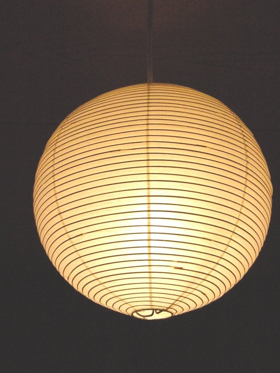 Isamu Noguchi Akari 30a Pendant Ceiling Light Washi Paper Lamp Shade Cedcls45n 45a Shower Pull Switch 30cm 1ft