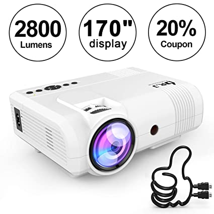 Amazoncom Dr J Professional 2800 Brightness Home Theater Mini