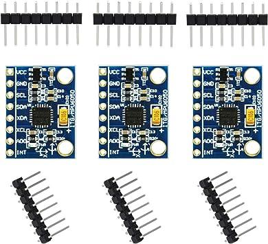 MPU-6050 6DOF 3 Axis Gyroscope+Accelerometer Module for Arduino DIY