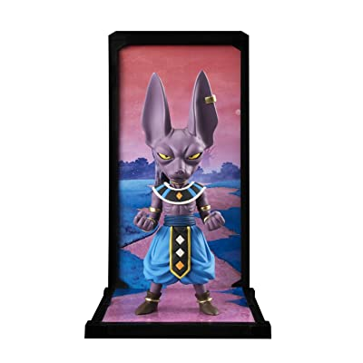 TAMASHII NATIONS Bandai Tamashii Buddies Beerus Dragon Ball Super Statue: Toys & Games
