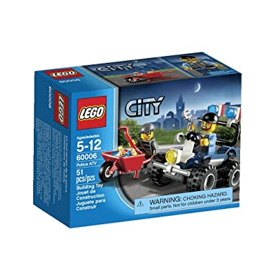 LEGO City Police ATV 60006: Toys & Games