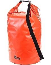 Xcase Schwimmsack: Wasserdichter Packsack 70 Liter, rot (Drybag)