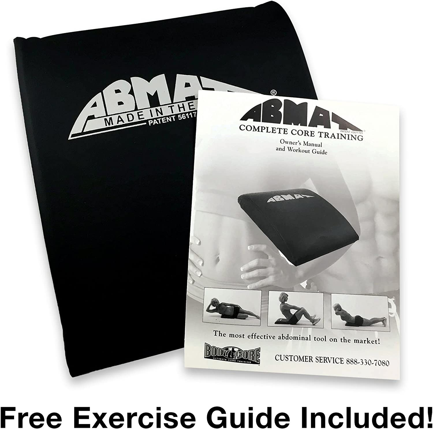AbMat Silver - The Original Abdominal Trainer - Works Entire Abdominal Muscle Group for Complete AB Workouts : Sports & Outdoors