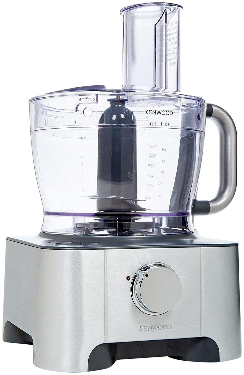 Kenwood FP959 12 Cup Induction Motor Food Processor with Scale, Silver