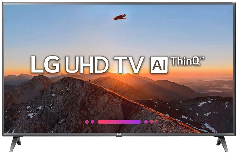 LG 108 cm (43 Inches) 4K UHD LED Smart TV 43UK6360PTE (Brown) (2018 model)