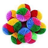 12 Pack Soft Velvet Bean Bags - 3 inches - Fun