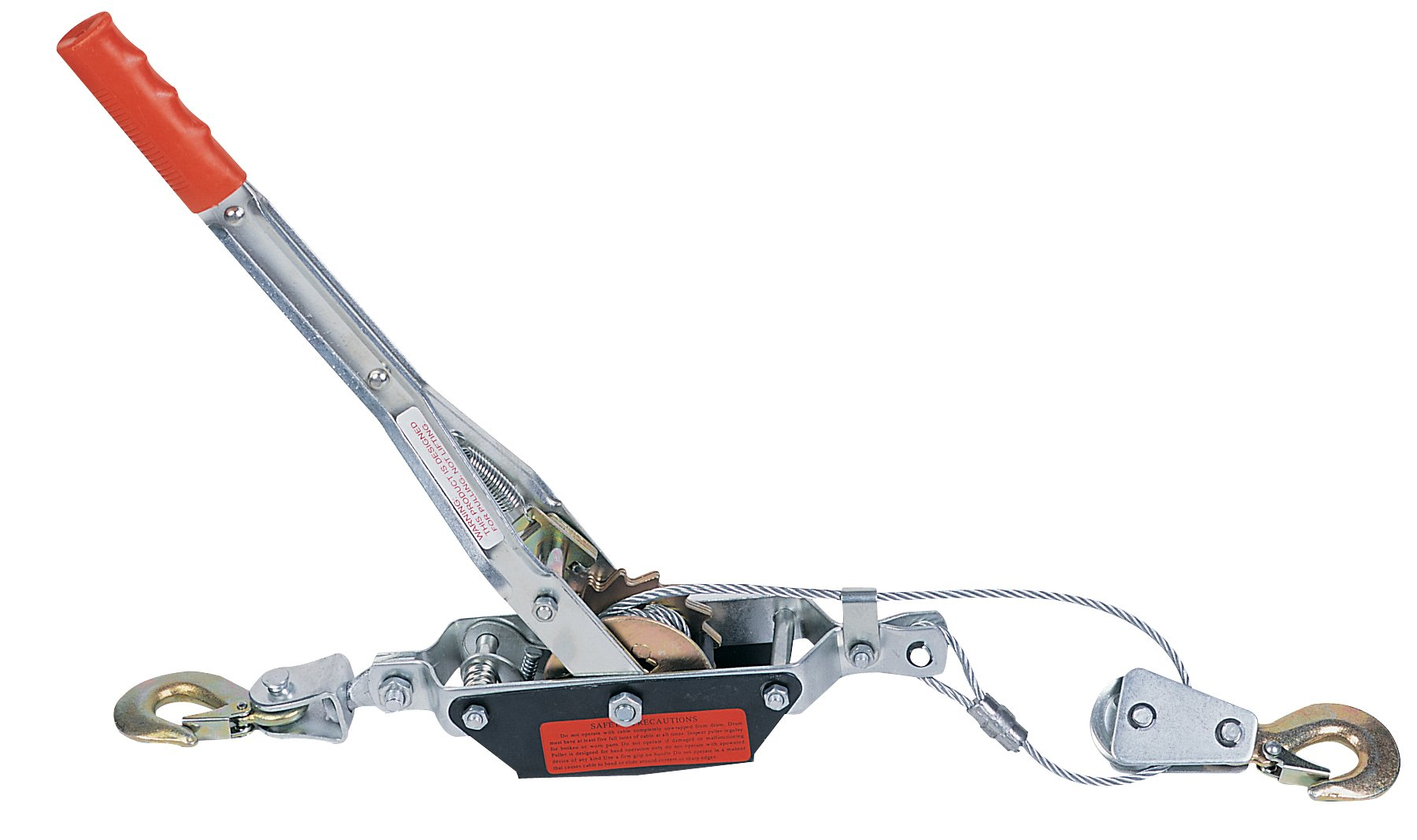 JLTC HP20D Hand Puller, 4400-Pound Tractor Capacity, 10-Foot Cable