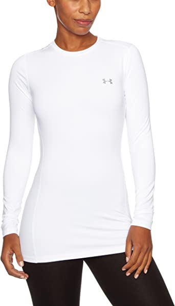 Under Armour UnderArmour - Pantalones interiores para mujer, tamaño L, color blanco: Amazon.es: Ropa y accesorios