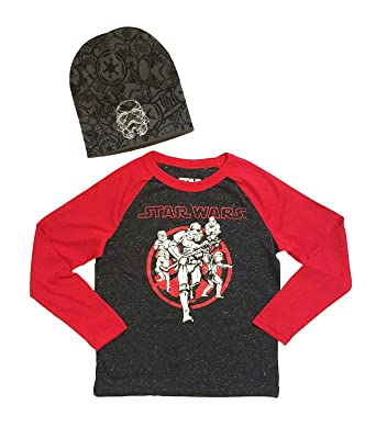 afe3faba1 Image Unavailable. Image not available for. Color: Star Wars Big Boys Long  Sleeve Shirt ...
