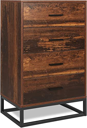 WLIVE 4 Drawer Chest