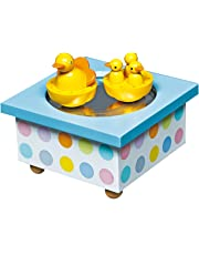 Trousselier Duck Musical Wooden Box