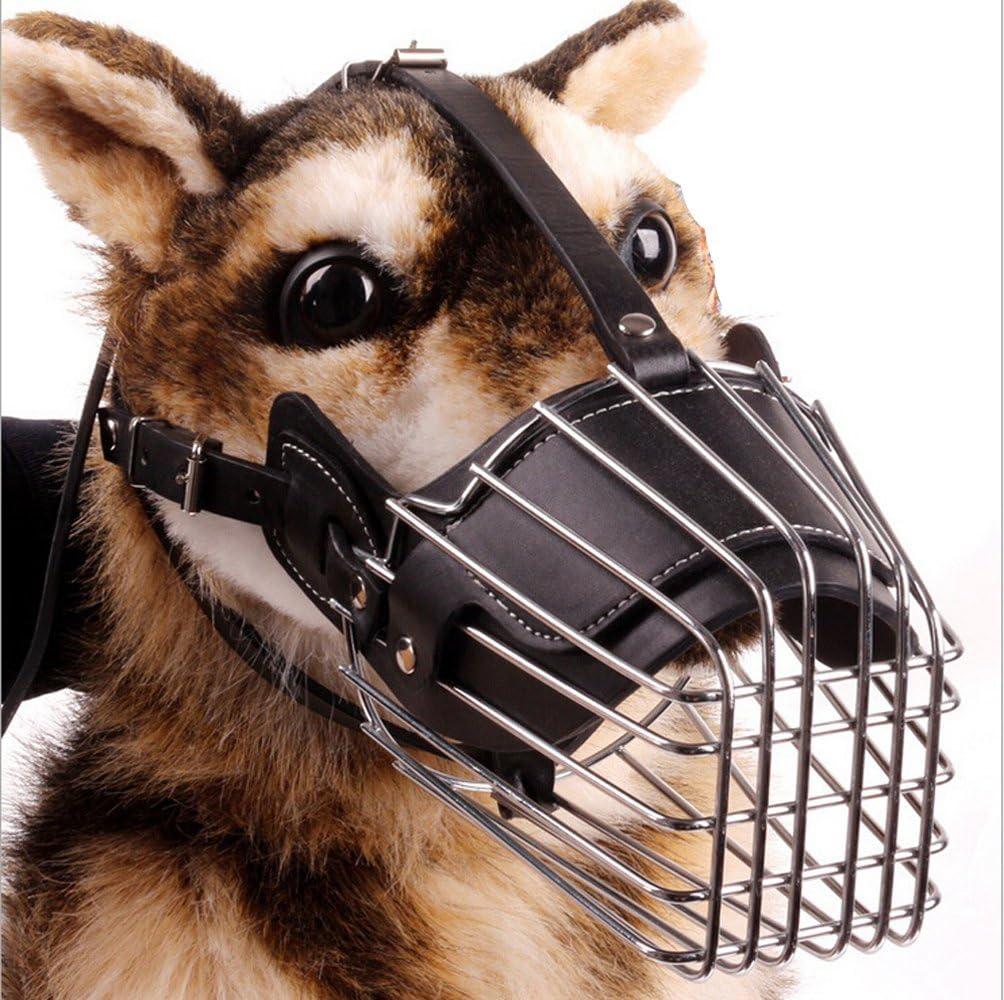 Greenpromise Bozal de Acero para Perro Tama/ño Grande