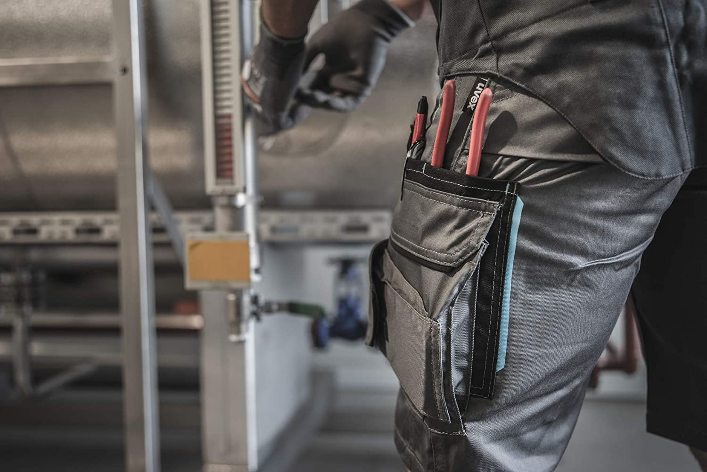 Multitasche Cargo Uvex Tune-Up Pantaloni da Lavoro Corti