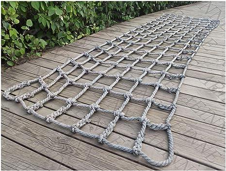 HWJ Red de Escalada,Red de Cuerda Escalera de Cuerda Remolque Redes de Seguridad de ProteccióN Adulto Infantil Maletero de Coche de Camionetas Techo de Coche Cargo Net, para Balcones Terrazas Puertas: Amazon.es: