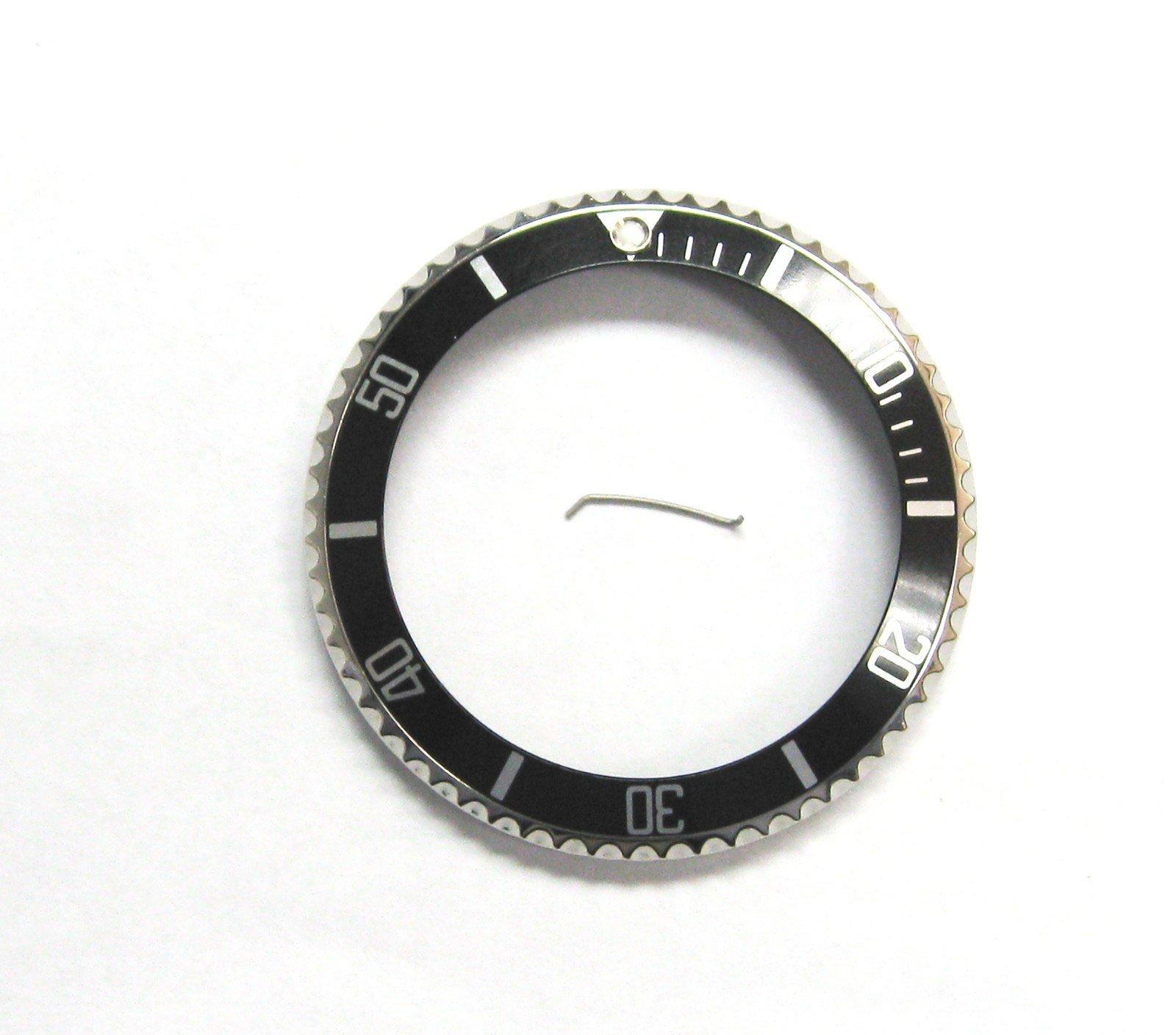Bezel+Insert for Rolex Submariner Seadweller 16660, 16600 Bk