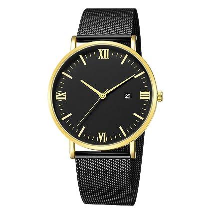 Amazon.com: Reloj de pulsera de cuarzo para mujer, de lujo ...