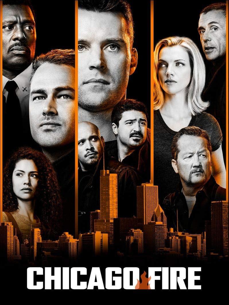 Amazon.com: TianSW Chicago Fire Season 8 (14inch x 19inch/35cm x ...