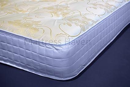 5 pies king tamaño de memoria colchón con muelles y espuma acolchada