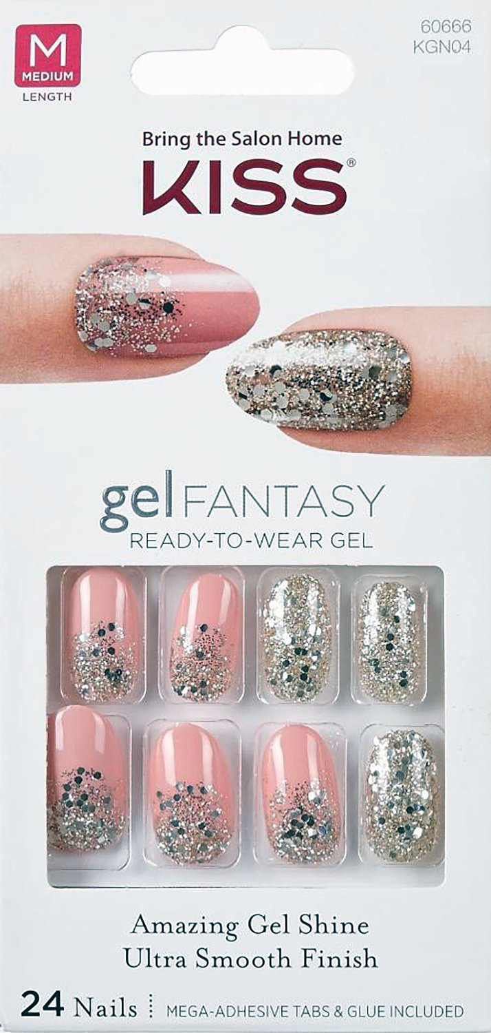 Amazon.com : **NEW 2016** Kiss Nails GEL FANTASY \