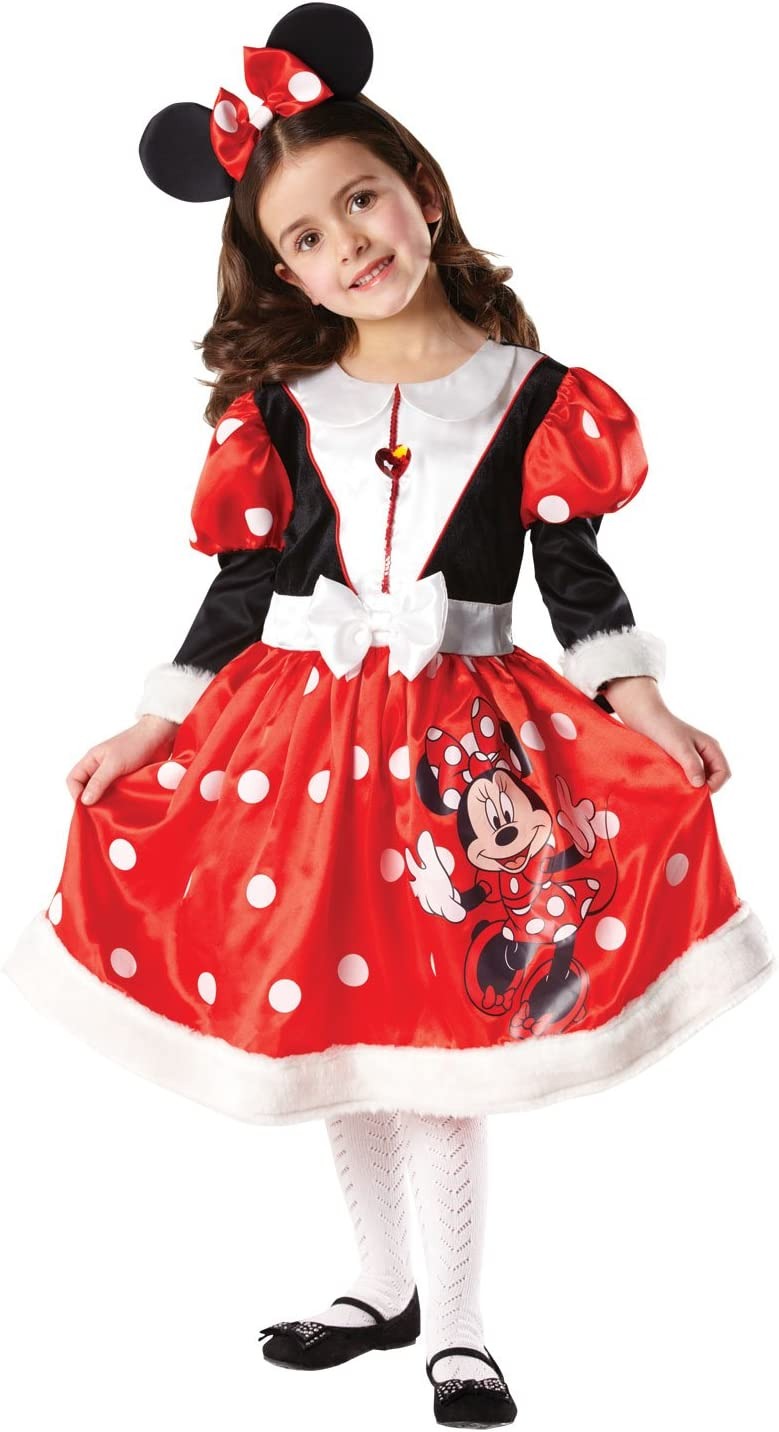 Rubbies - Disfraz de Minnie Mouse para niña, talla M (5-6 años ...
