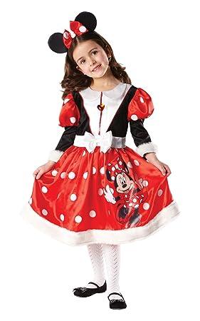 Rubbies - Disfraz de Minnie Mouse para niña, talla M (5-6 años ...