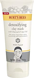 product image for Burt's Bees Detoxifying Clay Mask for Unisex, 2.5 Ounce
