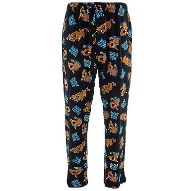 6bebf6f8ea Scooby Doo Men s Black Pajama Pants L at Amazon Men s Clothing store