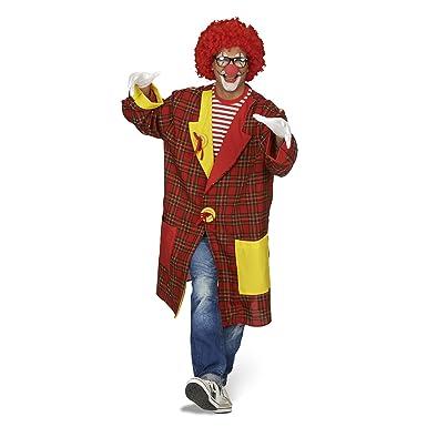 Clown mantel kariert
