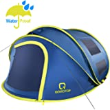 QOMOTOP 4 Person Pop up Tent