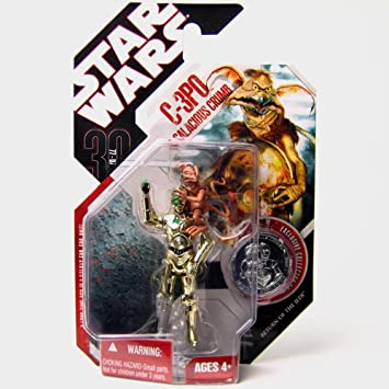 Figura Star Wars The 30th Anniversary Collection C-3PO & Salacious Crumb