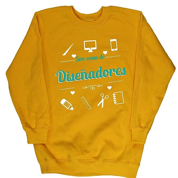HippoWarehouse Son Cosas de Diseñadores jersey sudadera suéter derportiva unisex niños niñas: Amazon.es: Ropa y accesorios