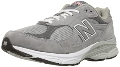 New Balance Men\u0027s M990GL3 Running Shoe,Grey,15 ...