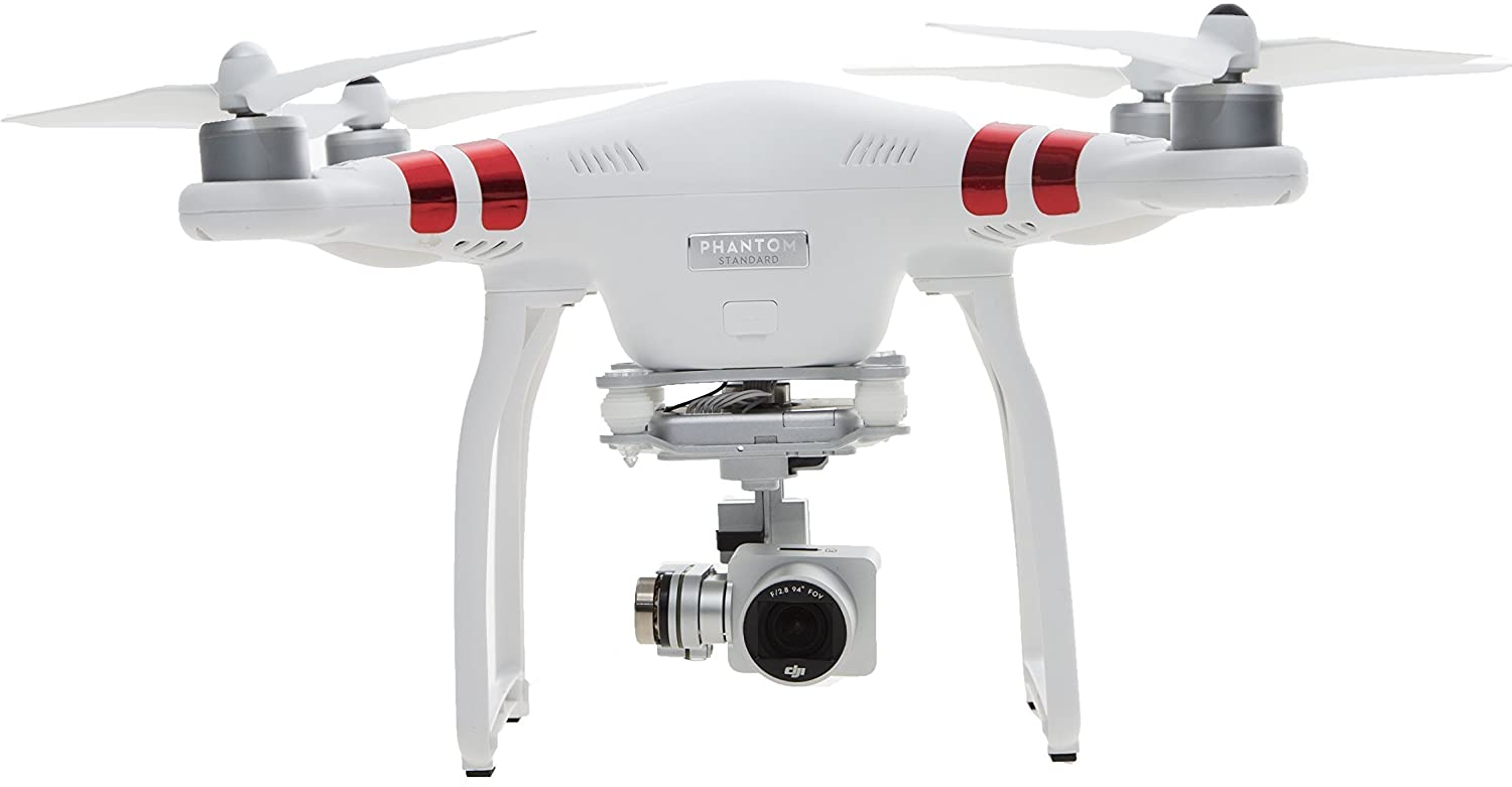 DJI Phantom 3 Standard Quadcopter Drone with 2 7K HD Video Camera