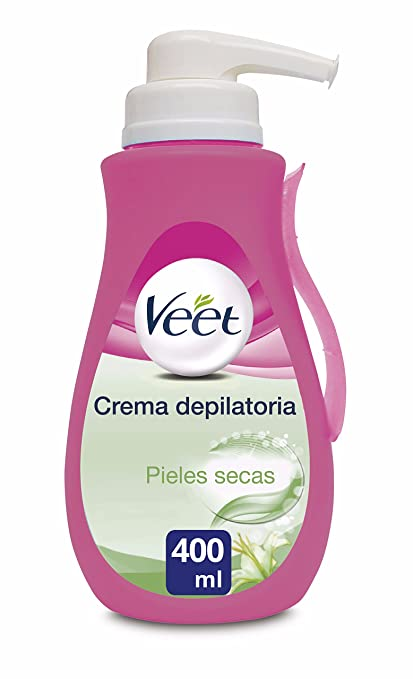Veet Crema Depilatoria - con Dosificador, Piel Normal y Seca-400ml
