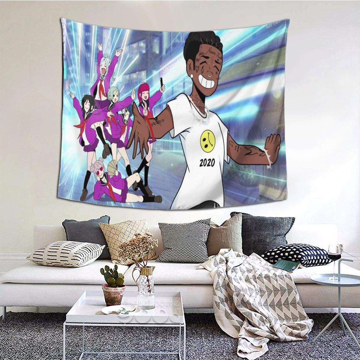 Buy Po1 Up Lil Uzi Vert Luv Vs The World Wall Hanging Tapestries 3d Printing Wall Blanket Art For Living Room Bedroom Home 60x51 Inch Online At Low Prices In India Amazon In Lil uzi vert eternal atake (deluxe) — luv vs. amazon in