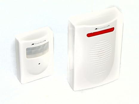 Inalámbrica de radio alarma de puerta Gong + detector de movimiento: de radio gong de
