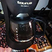 Taurus Jarra para CAFETERA DE Goteo Modelo Verona 6 (7AD): Amazon ...
