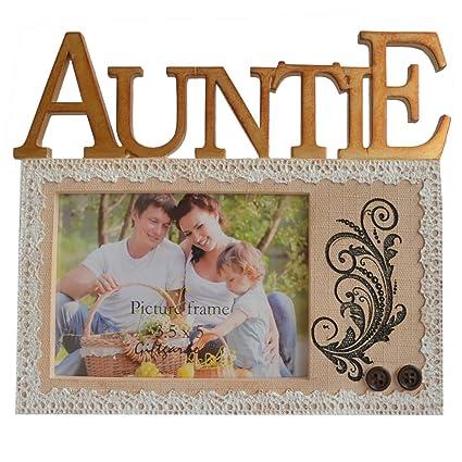 Amazon Gift Garden Auntie Picture Frame 35x5 Photo Frames