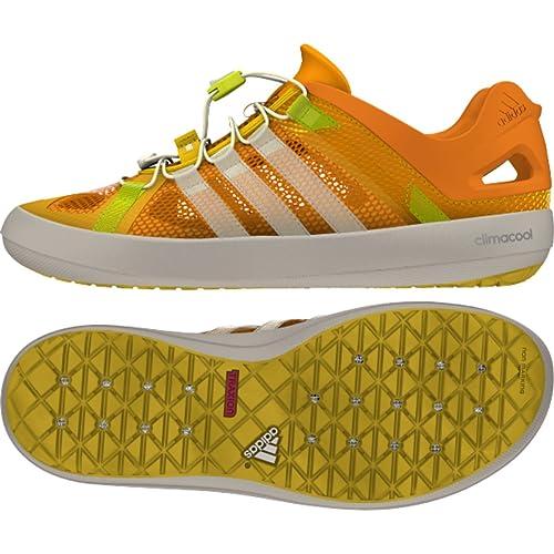 9d0001f3f000 Adidas Climacool Boat Breeze Mens Water Shoe 11 EQT Orange-White-EQT Yellow