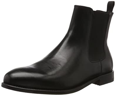 Daulton Up, Bottes Chelsea Homme, Noir (Black Leather), 45 EUClarks