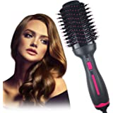Dekugaa Hair Dryer Brush, Hot Air Brush, Hair Dryer & Volumizer 3 in 1 Upgrade Feature Anti-scald Negative Ion Hair…