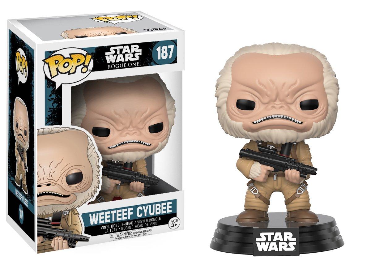 Funko Pop! Guerra de las Galaxias - Weeteef Cyubee