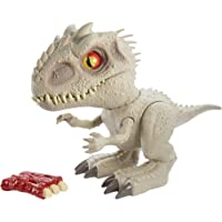 Jurassic World Camp Cretaceous Isla Nublar Feeding Frenzy Indominus Rex Interactive Dinosaur with Bite Reflex, Toy Ribs…