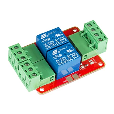 71Ao7gSw9mL._SY463_ amazon com sunfounder dc 5v power supply 2 channel relay module Relay Switch Wiring Diagram at n-0.co