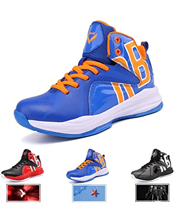 ed643097533c6d WETIKE Kid s Basketball Shoes High-Top Sneakers Outdoor Trainers Durable  Sport Shoes(Little Kid